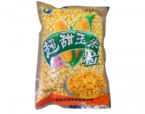 速冻甜玉米粒好处