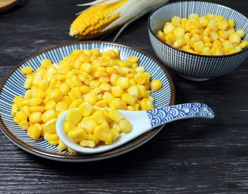 速冻甜玉米粒做法