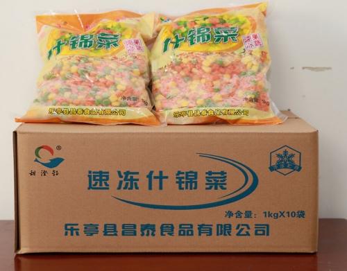 小包装速冻混合菜